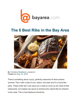 Bay Area Ribs
